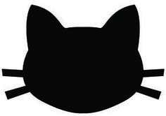 cat head silhouette - Buscar con Google