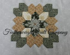 Lucy Boston Patchwork of the Crosses Block by FeatherweightQuiltCo
