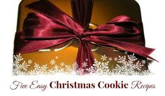 Top Five Easiest Christmas Cookie Recipes :YMC