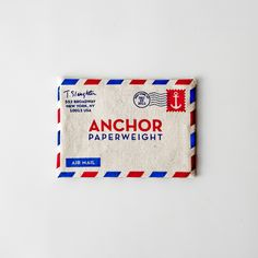 anchor paperweight // folklore