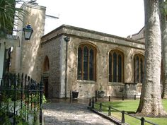 "The Chapel of St. Peter ad Vincula, final resting place of Anne Boleyn. In one of the many clues that Anne's guilt was a forgone conclusion and she would not get a fair trial, Henry VIII had called for Jean Rombaud, the expert ""Headsman of Calais"", before her trial had even begun."
