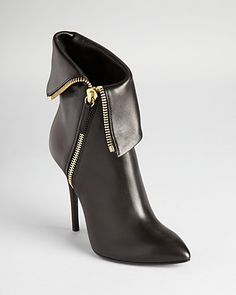 Giuseppe Zanotti Booties - Dirty Zipper - Boots - Shoes - Shoes - Bloomingdale's