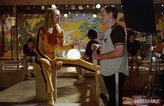 Le foto del backstage di Kill Bill vol. 1 - Quentin Tarantino #cinema #fotografia