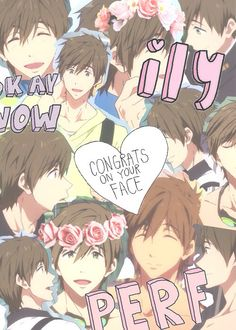 ((Look at this adorable hipster collage of Makoto. Just look at this precious cutie.))