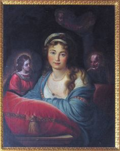 "Vigée-Le Brun Elisabet Louise (1755/1842) copy after ""Portrait of princesse Skavronskaja"" Milano, GAM"