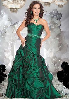 A line Sweetheart Taffeta Natural Waist Floor Length Sleeveless Prom Gowns - Angeldress.co.uk