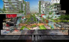 """Gallery of Sasaki's """"Forest City"""" Master Plan in Iskandar Malaysia Stretches…"""