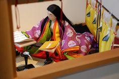 20090205 414 by tatsushu, via Flickr Heian Era, Heian Period, Japanese Colors, Ichimatsu, Japanese Outfits, Japanese Beauty, Doll Crafts, Japanese Culture, Geisha