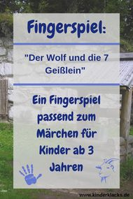 Finger game: the wolf and the seven goats - children& playroom . - Finger play: the wolf and the seven little goats – children& playroom - Thema Winter Im Kindergarten, Finger Games, Giving Flowers, Wolf, Sensory Bags, Easy Fall Crafts, Vernal Equinox, Finger Plays, Reading Games
