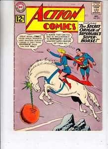 Action Comics 293 (FR+) DC 1962 Superman origin Comet Silver Age (c Superman Action Comics, Superman Comic Books, Dc Comic Books, Vintage Comic Books, Comic Book Artists, Comic Book Covers, Comic Book Characters, Vintage Comics, Comic Character