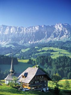 'Emmental Valley, Switzerland' Photographic Print - Peter Adams | Art.com Places To Travel, Places To See, Travel Destinations, World Clipart, Places In Switzerland, New Travel, Swiss Travel, Time Travel, Travel Aesthetic