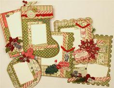 Authentique Paper: A Festive Mini Album Kit from Paisleys & Polka Dots!