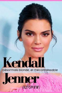 Kendall Jenner est désormais blonde, et méconnaissable ! Kendall Jenner, Kardashian, Burberry, Stars, Fashion, Hair Coloring, Stacked Hairstyles, Platinum Blonde, Beauty Care