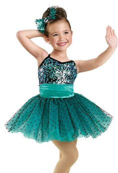 Sequin Tiered Petal Skirt Dress -Weissman Costumes