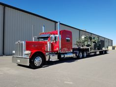 TRUCKIN,farmin, heavy equipment, re blog OK and if you see a pic you want removed ask and it will. As i don't own any pictures posted .they are from the web. Big Rig Trucks, Tow Truck, Semi Trucks, Old Trucks, Fire Trucks, Peterbilt 389, Peterbilt Trucks, Cement Mixers, Diesel Trucks