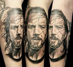 Realistic Portraits Tattoo by Gunnar V Tattoo | Tattoo No. 12824