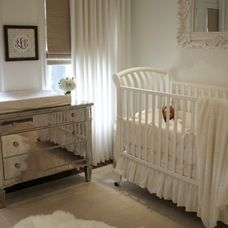 Love this crib, if it were dark wood!!!!   traditional kids by Amy Lambert Lee
