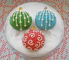 TrophyCupcakesHolidayOrnaments-2002 (2) by Trophy Cupcakes and Party, via Flickr