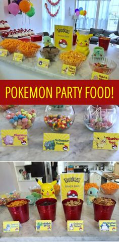 Pokemon Party from Fab Everyday