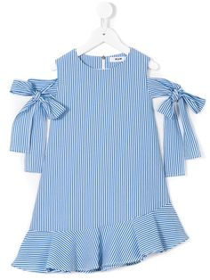 Shop Msgm Kids striped dress