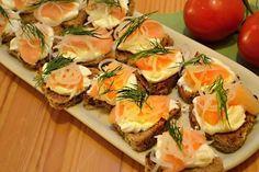 Co jsou kanapky? » MlsnáVařečka.cz Canapes, Spanakopita, Finger Food, Sushi, Food And Drink, Appetizers, Snacks, Ethnic Recipes, Appetizer