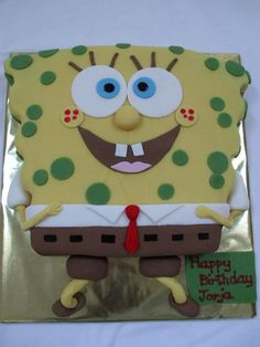 """My son goes """"SPONGE BOB!!"""" this is his birthday theme in a few months<3"""