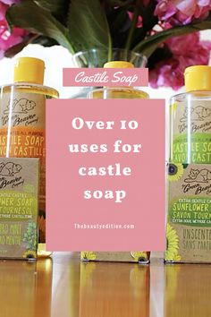 Castile soap has over This DIY hack goes from household to skincare. Head over to the beauty edition for my recipes ! Castile Soap, Hacks Diy, My Recipes, Household, Skincare, Bottle, Beauty, Soap
