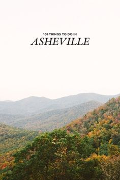 The Ultimate Asheville Bucket List - 101 Things to Do in Asheville, NC Asheville Glamping, Visit Asheville, Asheville North Carolina, South Carolina, Oh The Places You'll Go, Places To Visit, Dupont State Forest, Craggy Gardens, Stuff To Do