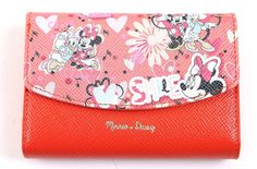 "Disney Daisy Duck Minnie Mouse Round Style Women Fashion Wallet Purse with Gift Box (Orange). Official Disney Design Wallet. Material: PU leather; lightweight, durable and fashionable. Designed to hold cash, cards and other little things; you can simply hold it on hand or put it in bag. measures : 5.1"" x 3.7"" x 1.4"". Clutch designed for the safety of your properties."
