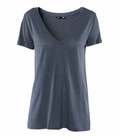 #Blue #HM #VNeck Save this image and add it to your closet! http://wishi.me