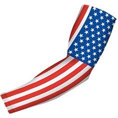 Nexxgen Sports Apparel Compression Arm Sleeve (Single) Large American Flag, Compression Arm Sleeves, Digital Camo, Usa Flag, Sports Apparel, Long Tee, Golf Outfit, Sport Outfits, Basketball