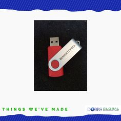 Things We've Made: USB Flash Drives! Businesses trying to minimize the use of paper will want to check out USB flash drives for not only their internal documents, but also consider using this product to share documents with your customers. #thingswevemade #business #logo #brand #branding #marketing #dobbsglobal #promotionalproducts #apparel #jax #jacksonville #staugustine #staug #duval #stjohns #fl