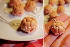 Handmade necklace and earrings 'Michetta'    http://sainsgioie.blogspot.it  http://www.facebook.com/GioieLillipuziane