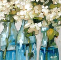 """Daily Paintworks - """"Smooth Operator"""" - Original Fine Art for Sale - © Libby Anderson"""
