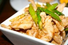 Resep Tumis Ayam Sayur Asparagus