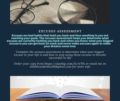 Excuses assessment Negative Words, Negative Self Talk, Positive And Negative, Risk Analysis, Swot Analysis, Types Of Intelligence, How To Find Out, How To Become, Personal Qualities