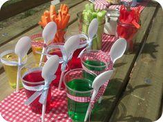 Jelly cups - idea