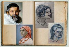 art studies Art Studies, Art Forms, Concept, Portrait, Illustration, Artist, Men Portrait, Illustrations, Artists