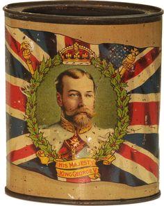 King George VI Tea Tin