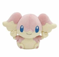 "Amazon.com: Pokemon Center Black and White Pokedoll Plush Doll - 5.5"" - Audino/Tabunne (Blue Label): Toys & Games"