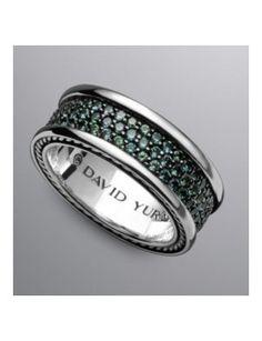 David Yurman has beautiful jewelry for men.