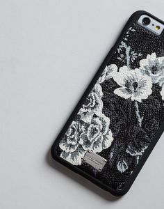 Printed dauphine iphone 6 plus cover | dolce&gabbana online store
