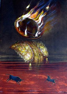 judith mason, Title: Goya's Hat Medium: Nine colour lithograph Size: 70 x 51cm Edition size: 35