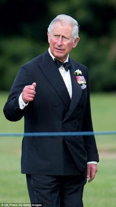 Prince Charles arrives to take part along with other Senior member of the Royal Family in marking two centuries of Gurkha service with the British Armed Forces and honoring those that died in the Nepalese earthquake on April 25