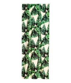 Laurel & Wolf creative director Sarah Sherman Samuel walks us through her cool office makeover Leaf Curtains, Panel Curtains, Curtain Panels, Cotton Curtains, Bedroom Curtains, Curtain Length, Tropical Home Decor, Cool Office, Office Makeover