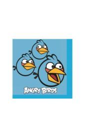 Angry Birds Beverage Napkins 16ct - Party City