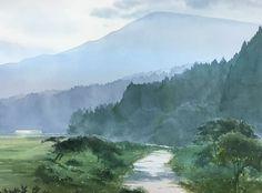Abe Toshiyuki , Watercolor, 29×39cm, 2015