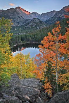 Tip-Top Light, North side of Bear Lake, Rocky Mountain National Park by Erik Stensland