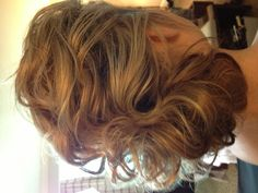 Las Vegas Wedding Hair and Makeup by Amelia C & Co- Messy Updo for a chic wedding