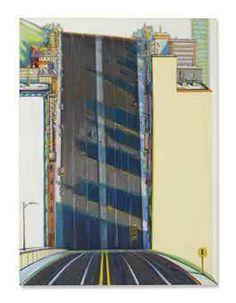 Wayne Thiebaud (b. 1920) | City Downgrade | POST-WAR ...